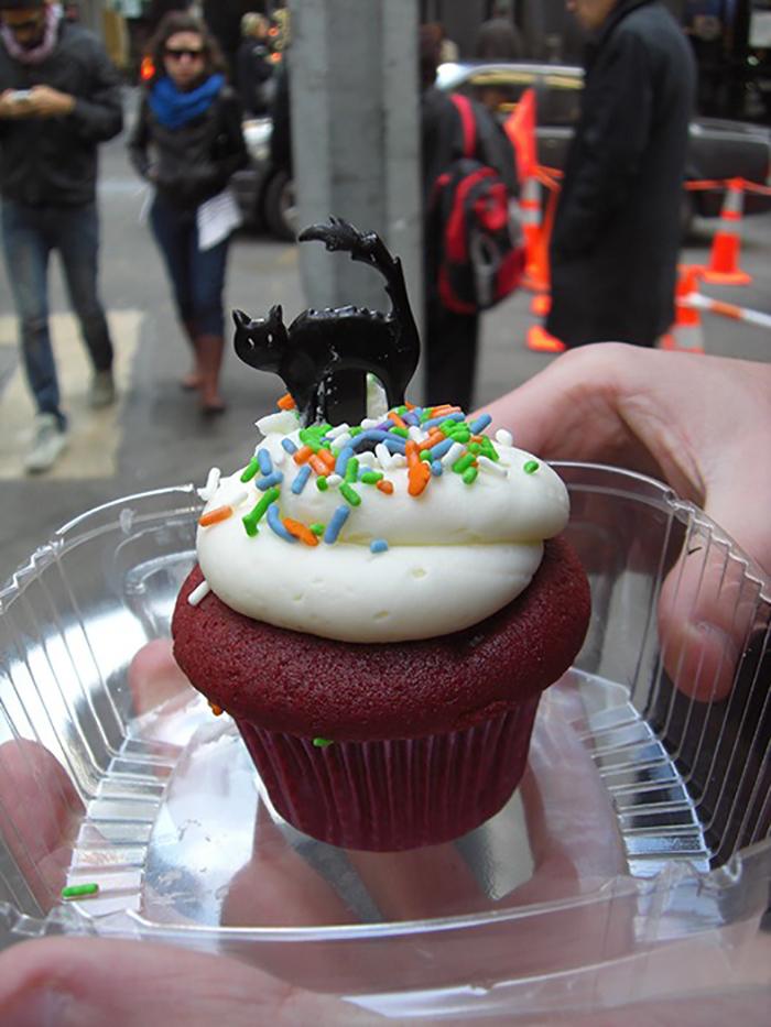 Cupcake por Halloween