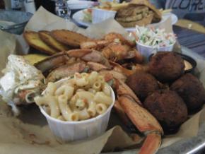 Joe's Crab, en Fisherman's Wharf. 60$
